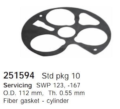 251594 Cargo Прокладка кондиционера