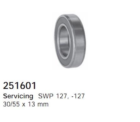 251601 Cargo Подшипник шкива компрессора