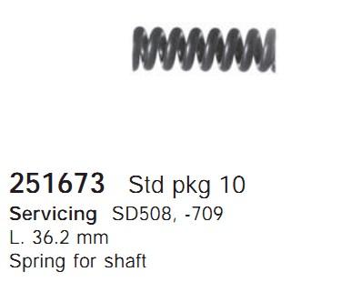 251673 Cargo Пружина кондиционера