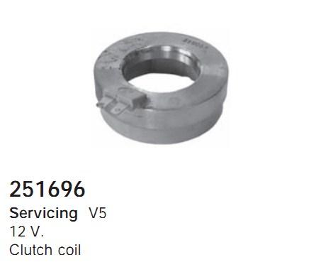 251696 Cargo Электромагнитная муфта компресcора