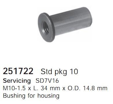 251722 Cargo Части кондиционера