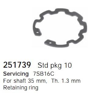 251739 Cargo Стопор шкива кондиционера