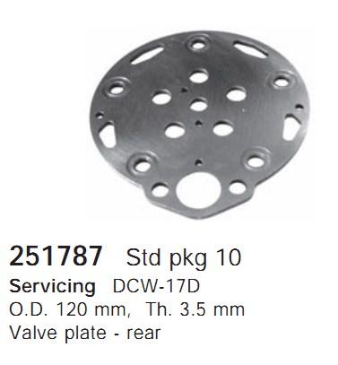 251787 Cargo Клапан-пластина кондиционера