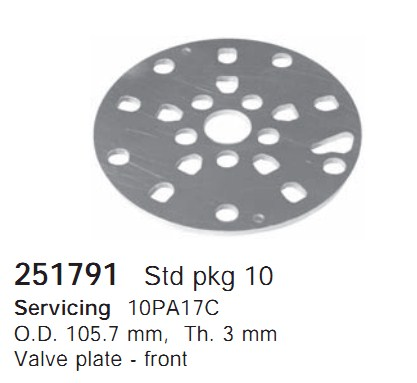 251791 Cargo Клапан-пластина кондиционера