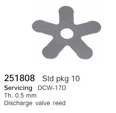 251808 Cargo Клапан-пластина кондиционера
