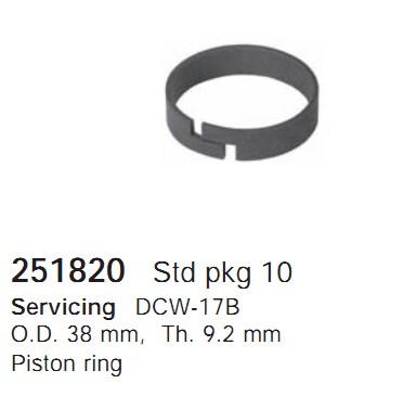 251820 Cargo Кольцо поршня кондиционера