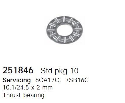 251846 Cargo Подшипник компрессора