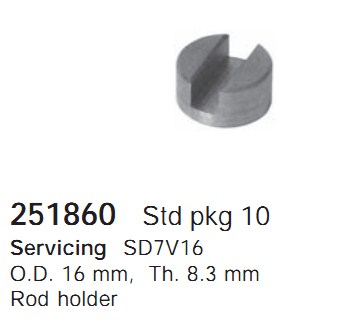 251860 Cargo Поршневая группа кондиционера