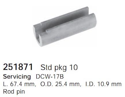 251871 Cargo Компонент шкива кондиционера