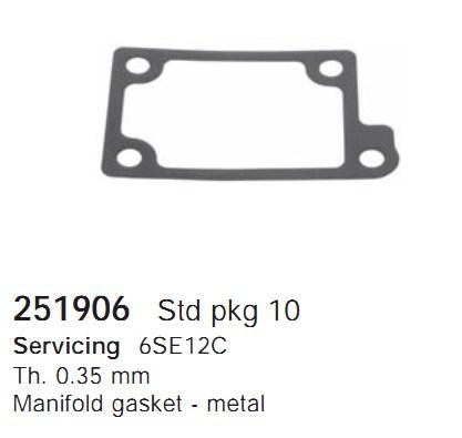 251906 Cargo Прокладка крышки компрессора