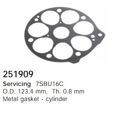 251909 Cargo Прокладка кондиционера