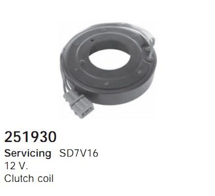 251930 Cargo Электромагнитная муфта компресcора