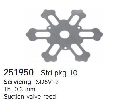 251950 Cargo Клапан-пластина кондиционера