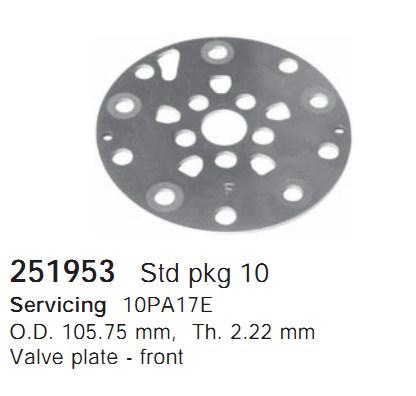 251953 Cargo Клапан-пластина кондиционера