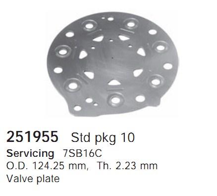 251955 Cargo Клапан-пластина кондиционера