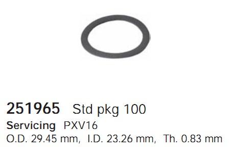 251965 Cargo Кольцо поршня кондиционера
