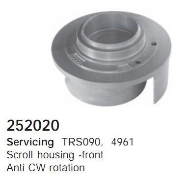 252020 Cargo Поршневая группа кондиционера