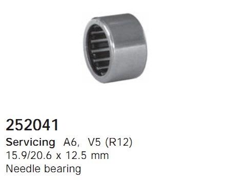 252041 Cargo Подшипник компрессора