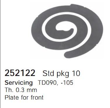 252122 Cargo Поршневая группа кондиционера