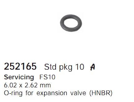 252165 Cargo Кольцо уплотнительное кондиционера