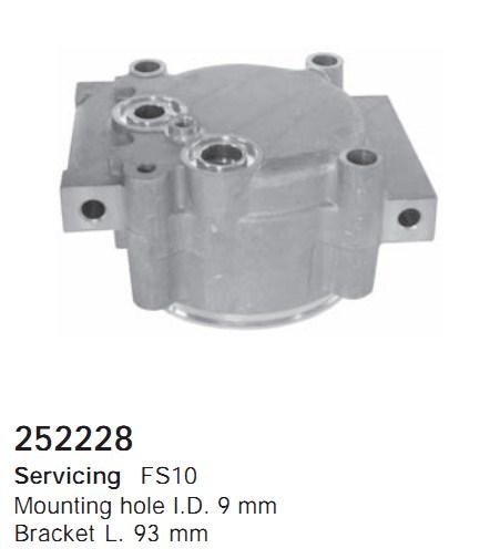 252228 Cargo Крышка задняя кондиционера