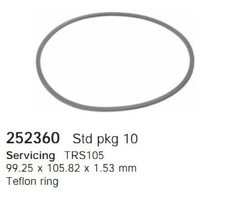 252360 Cargo Кольцо уплотнительное кондиционера