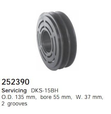 252390 Cargo Шкив компрессора