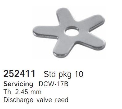 252411 Cargo Клапан-пластина кондиционера