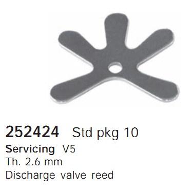 252424 Cargo Клапан-пластина кондиционера