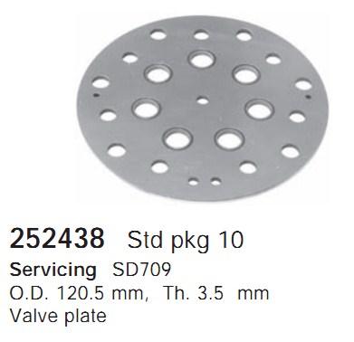 252438 Cargo Клапан-пластина кондиционера