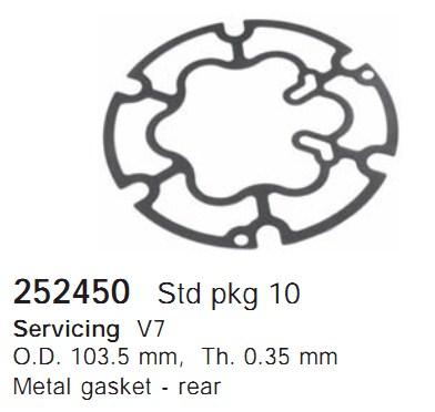 252450 Cargo Прокладка кондиционера