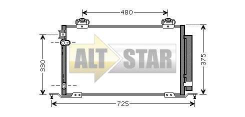 250617 Cargo Сальник компрессора комплект