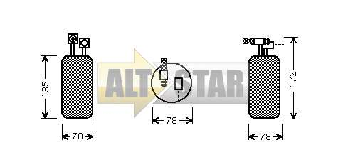 250710 Cargo Кольцо уплотнительное кондиционера