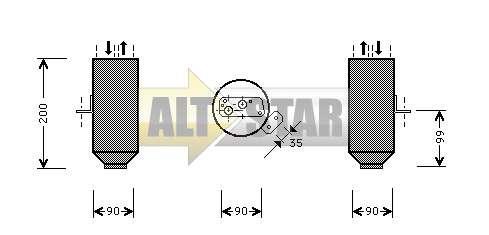 250713 Cargo Прокладка кондиционера