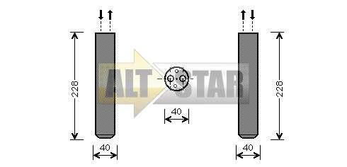 250744 Cargo Кольцо уплотнительное кондиционера