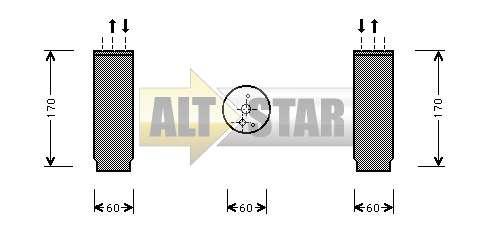 250782 Cargo Кольцо уплотнительное кондиционера