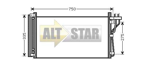 250823 Cargo Крышка задняя кондиционера