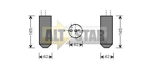 250853 Cargo Крышка задняя кондиционера