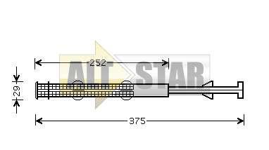 250875 Cargo Сальник компрессора