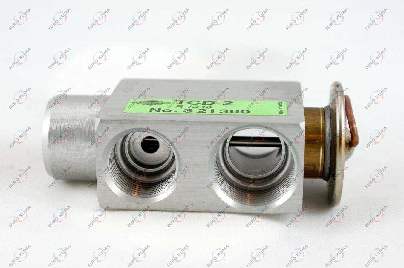 38602 EUROKLIMA Расширительный клапан BLOCK